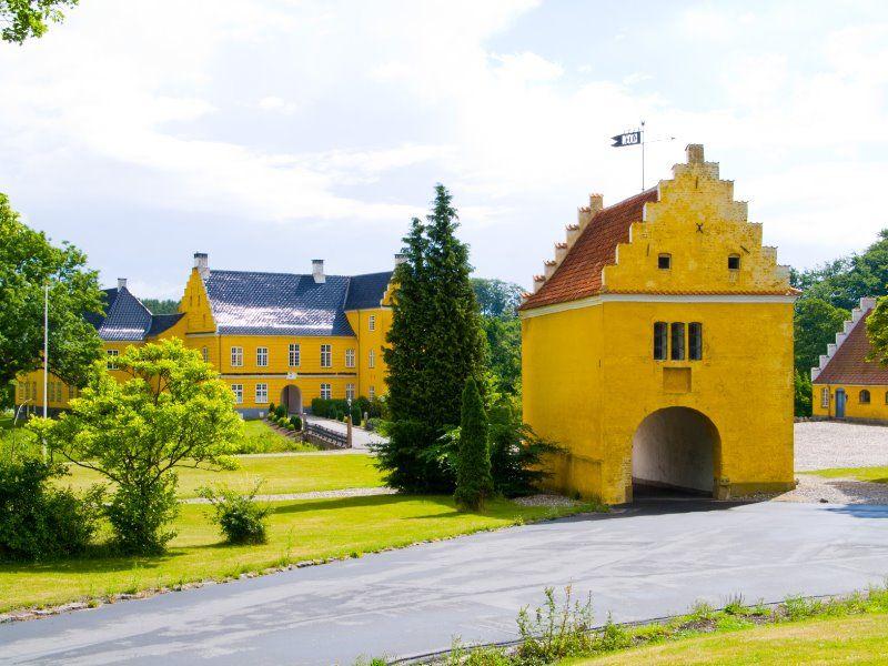 Lykkesholm Slot på Fyn