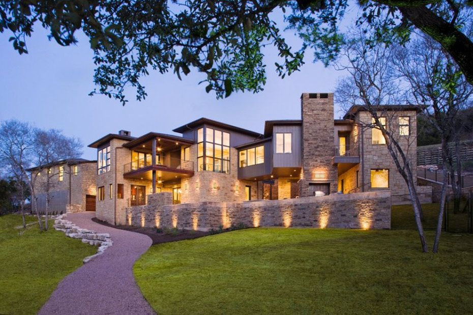 Westlake Drive House By James D Larue Architects Houses In Austin Fancy Houses Dream Home Design