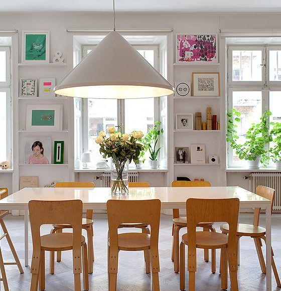 Apartamento grande, mas com soluções para pequenos - dcoracao.com - blog de decoração e tutorial diy