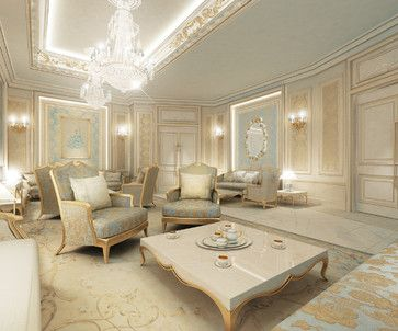 Residential projects dubai traditional spaces for Living room designs in dubai
