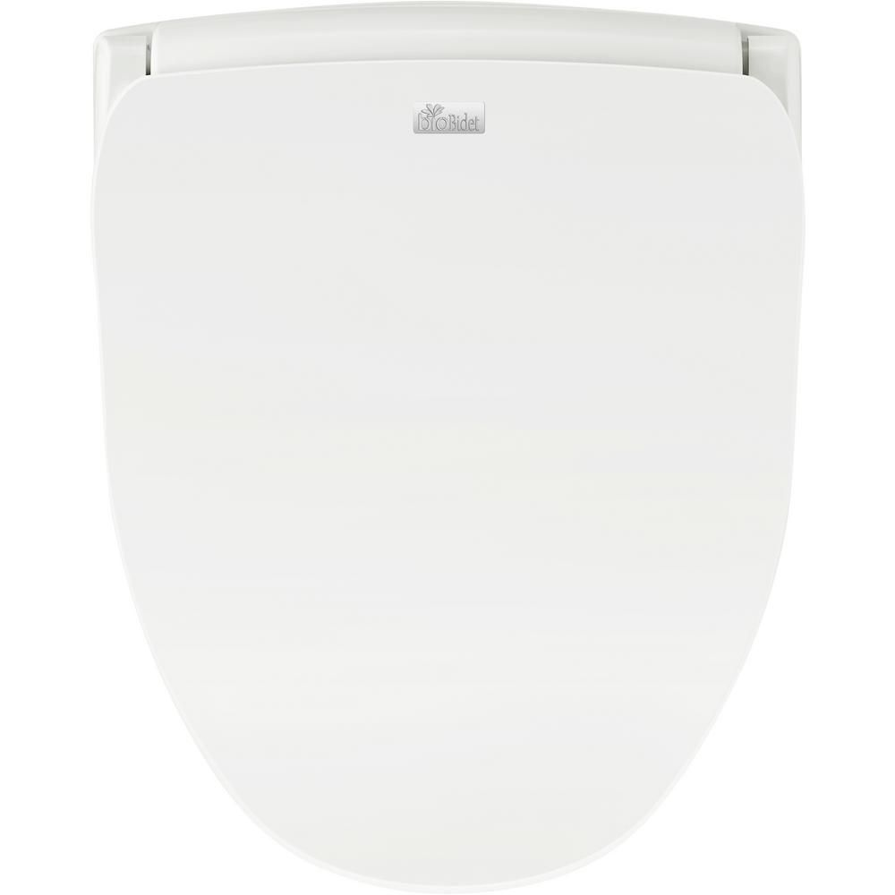 Biobidet Slim Series Electric Smart Bidet Seat For Round Toilet In