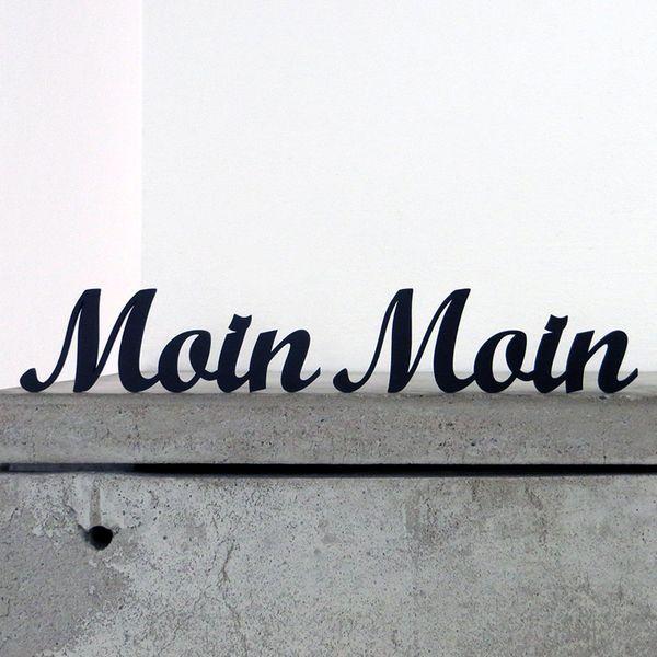Buchstaben Schriftzuge Moin Moin Deko Schriftzug Gross Ein