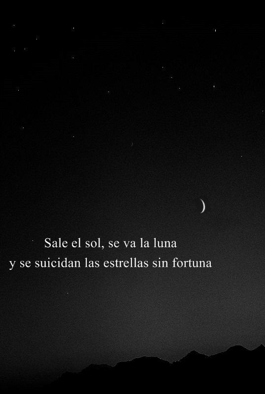 Frases de estrellas y luna