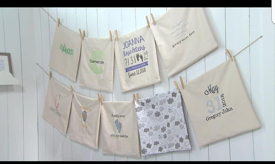 Love These Pillow Covers Design Your Own For The Baby In Your Life