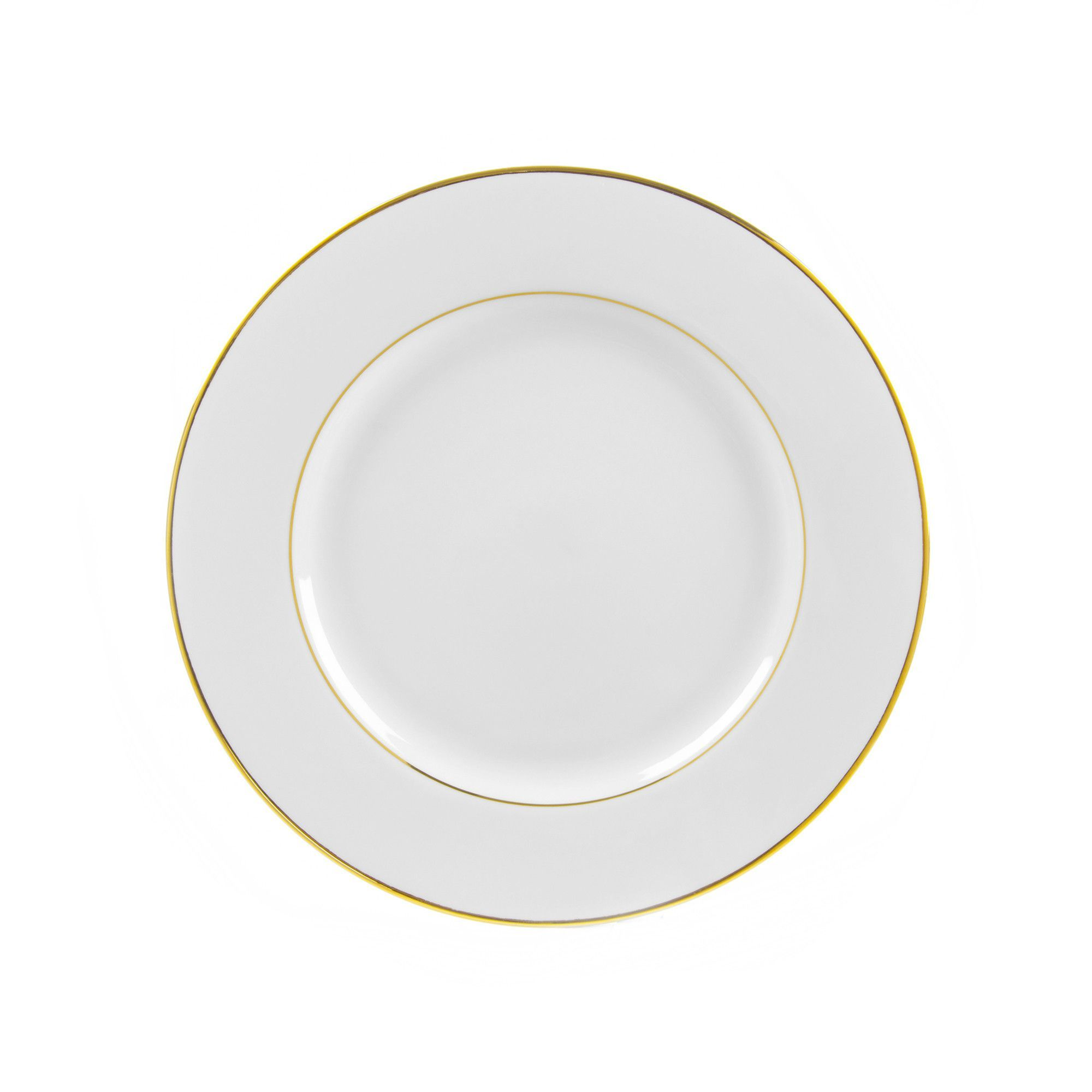 Gold Double Line 9 13 Luncheon Plate Plates 10 Strawberry Street Plate Sets