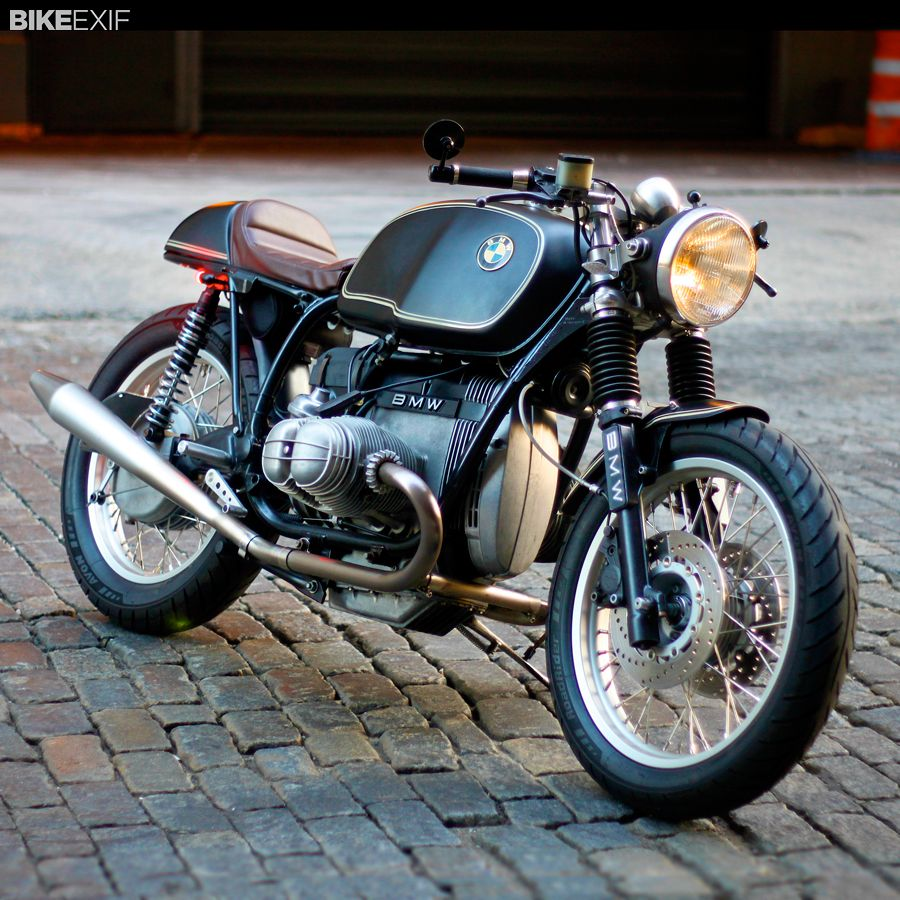 Bill Costello S Immaculate Bmw R100rt Custom Motos Retro Motos