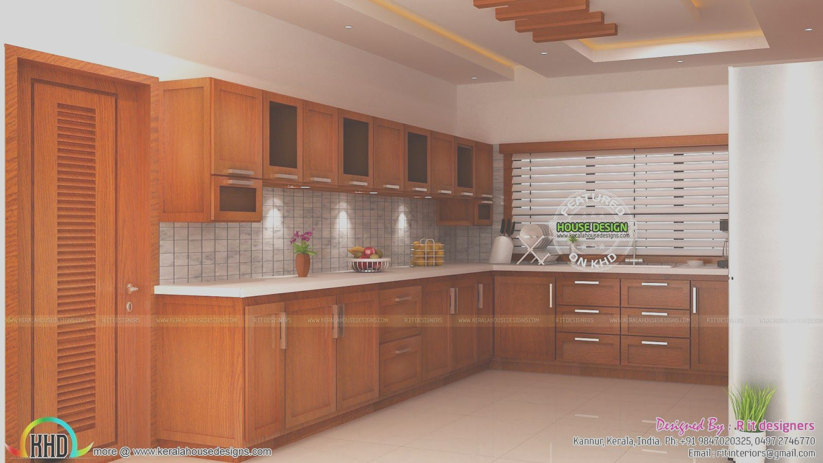 Modular Kitchen Living And Bedroom Interior Kerala Home In 2020 Interior Design Kitchen Kitchen Furniture Design Images Kitchen Cabinet Design Photos
