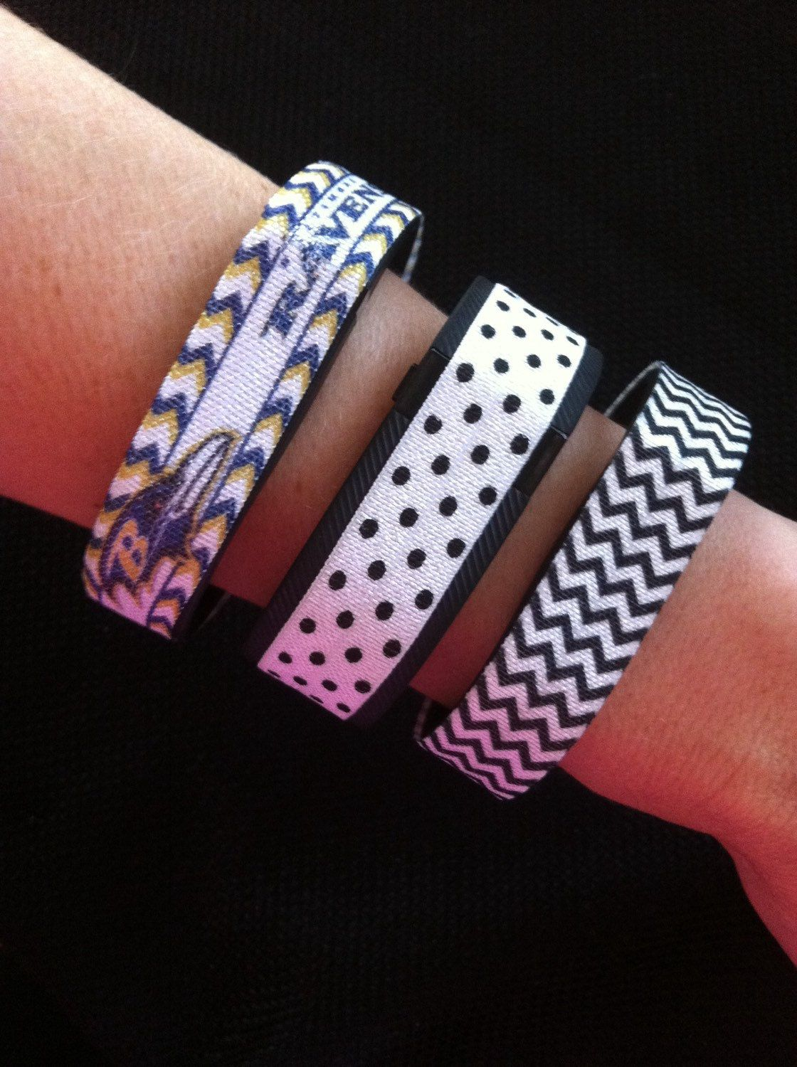 Decorative Elastic Band for Fitbit Flex, Fitbit Charge and ChargeHR