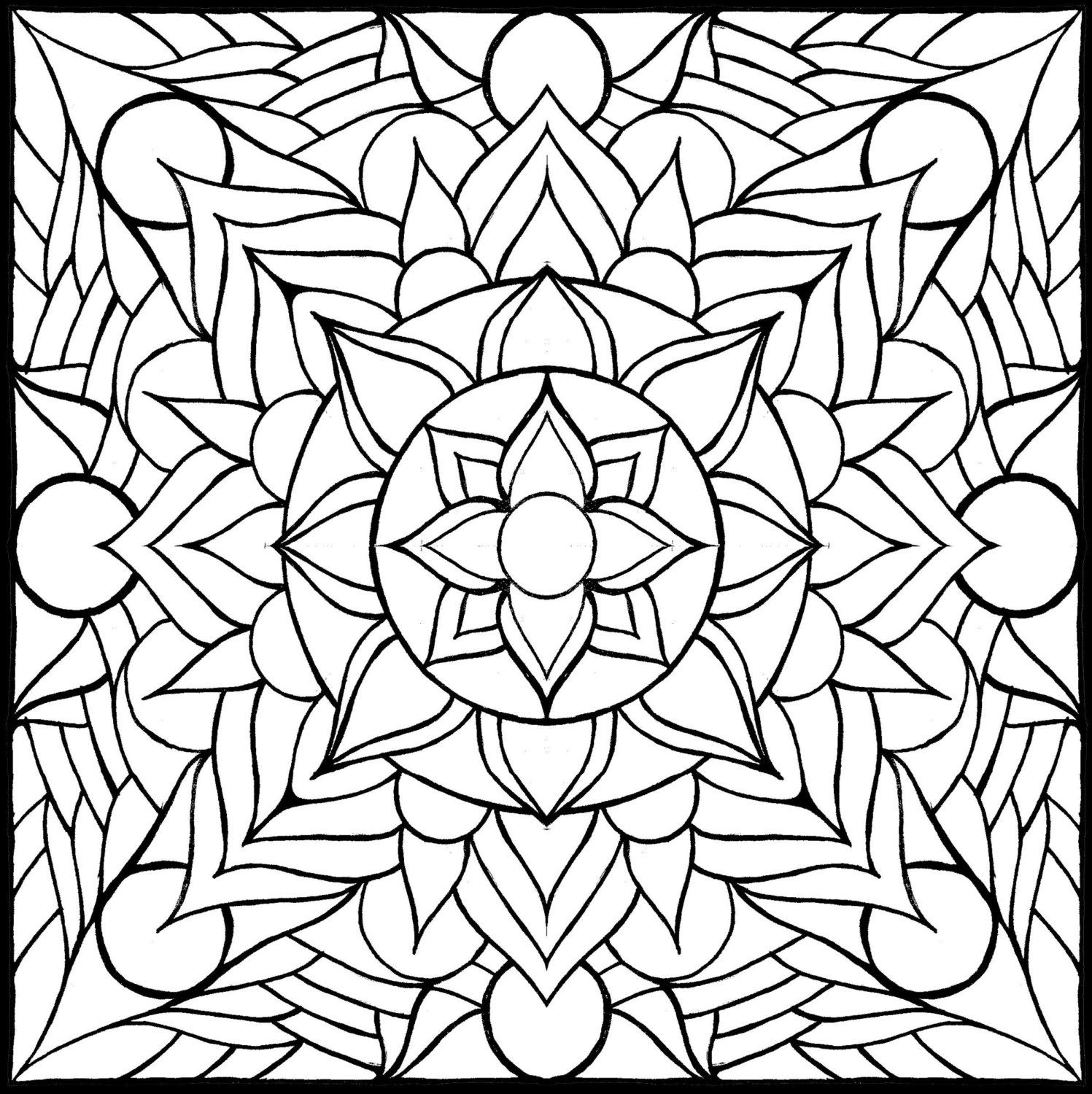 Coloring pages layers by brokencrayonworks on etsy coloring pages