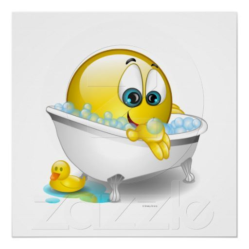 Bathtub Poster Bathtubs, Smiley and Smileys
