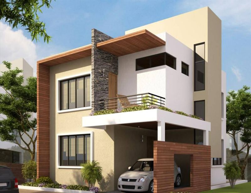 Exterior Color Combinations For Small Houses In India Exterior Paint Colors For House Modern House Colors Exterior House Colors