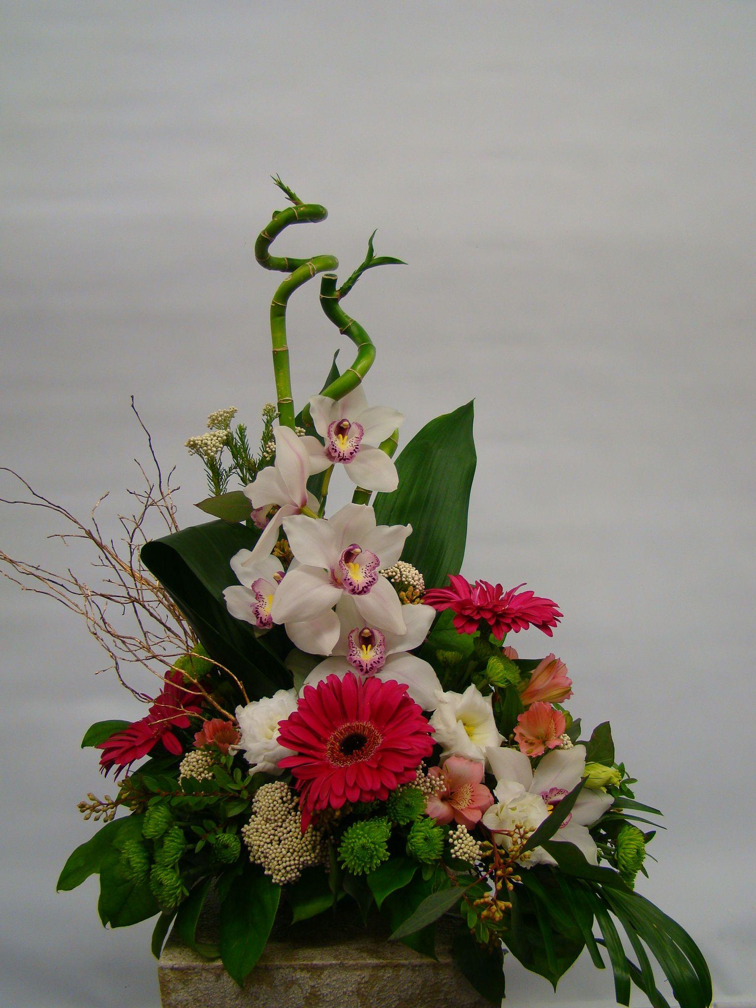 Ikebana Flower Arrangement Pictures Japanese Ikebana Style Long