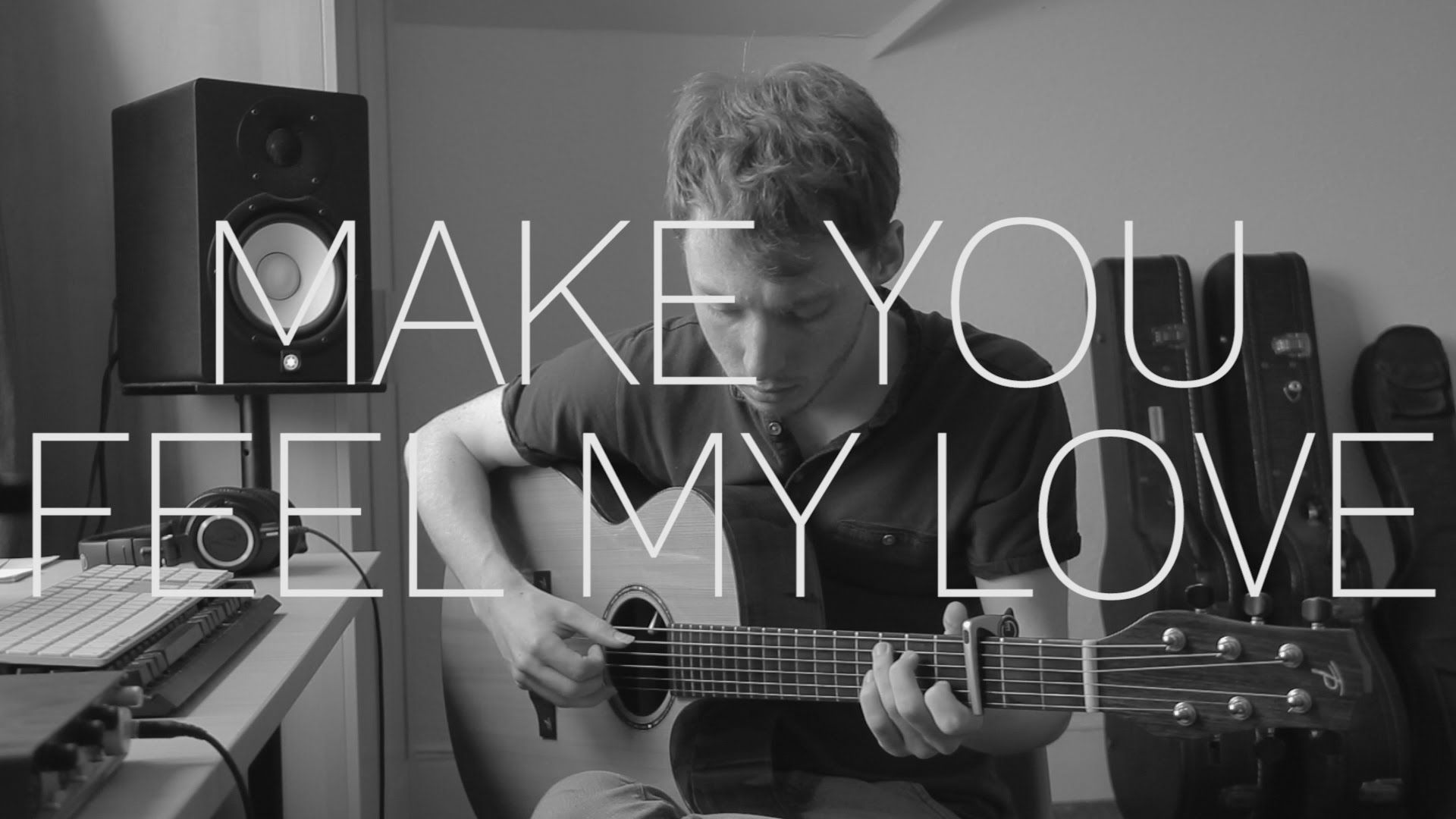 Adele Bob Dylan Make You Feel My Love Fingerstyle Guitar
