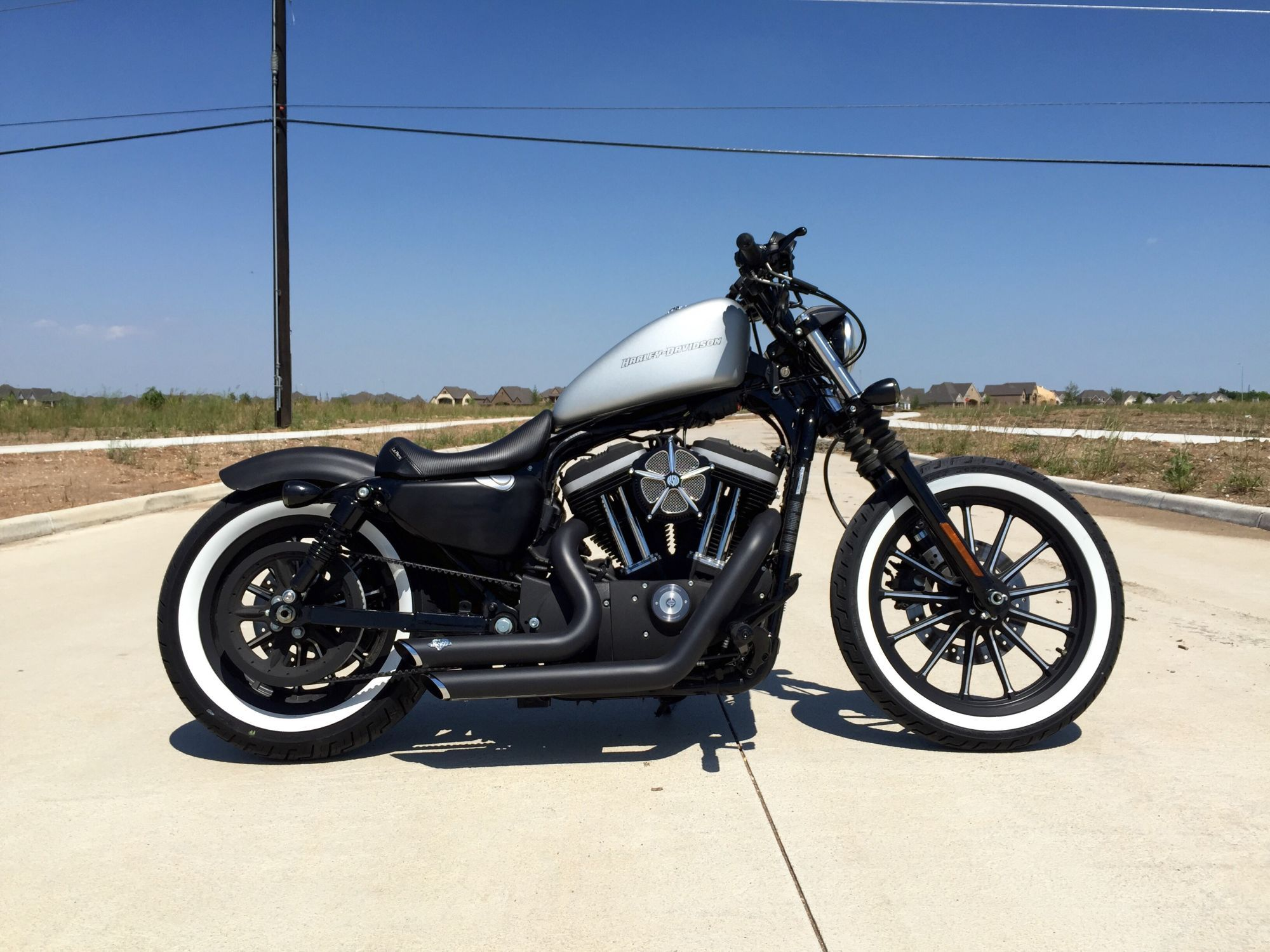 how many iron 883 owners out there page 287 harley davidson forums skuta pinterest. Black Bedroom Furniture Sets. Home Design Ideas