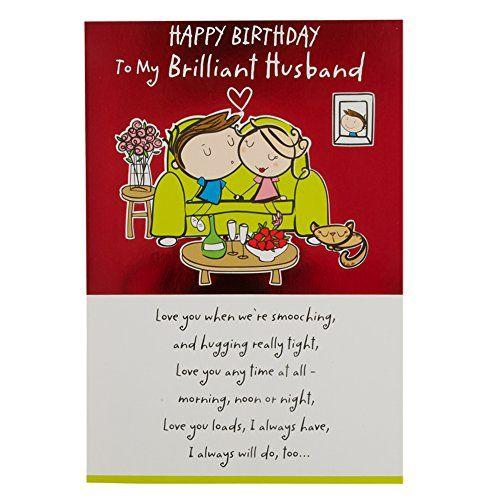 hallmark birthday card for husband 'love you lots
