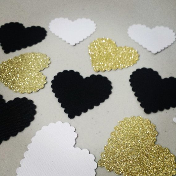 Engagement heart confetti wedding confetti heart theme engagement heart confetti wedding confetti heart theme decoration glitter heart confetti black junglespirit Choice Image