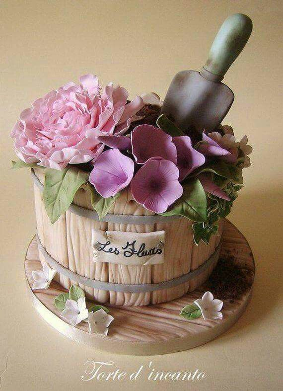 Maceta cakes Pinterest Cake designs and Cake