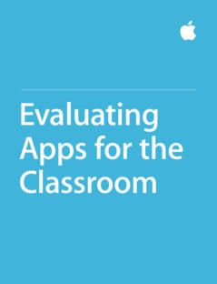 Guide takes you through five main criteria for how to evaluate educational apps.