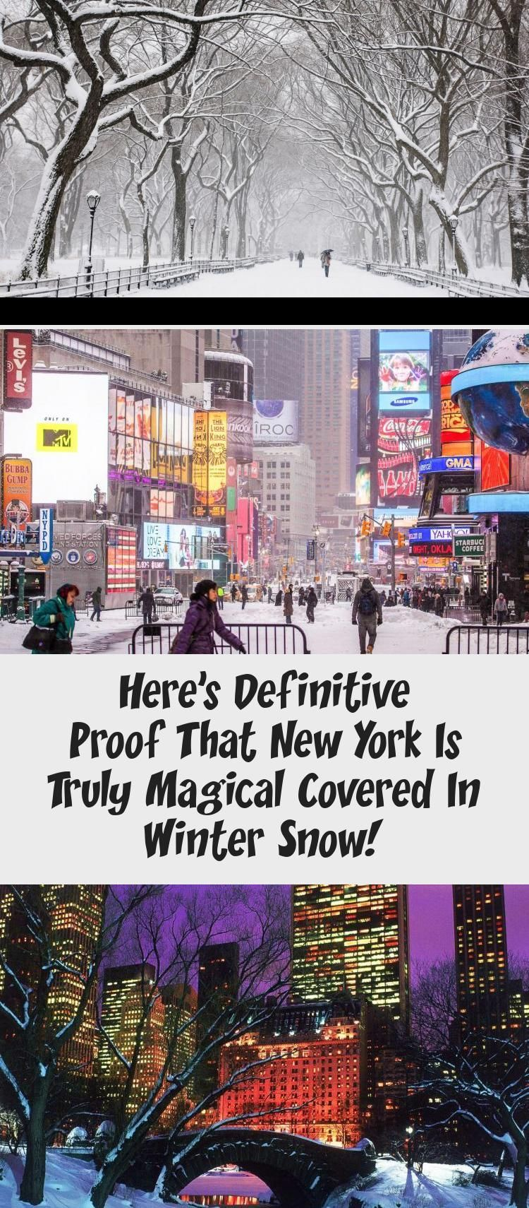 Heres Definitive Proof That New York Is Truly Magical Covered In Winter Snow