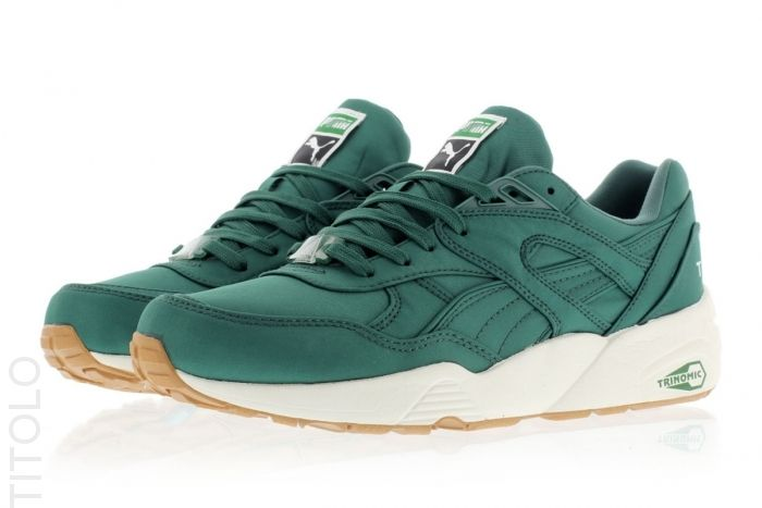 Posy Green-Whisper White Puma Trinomic R698 Nylon Titolo