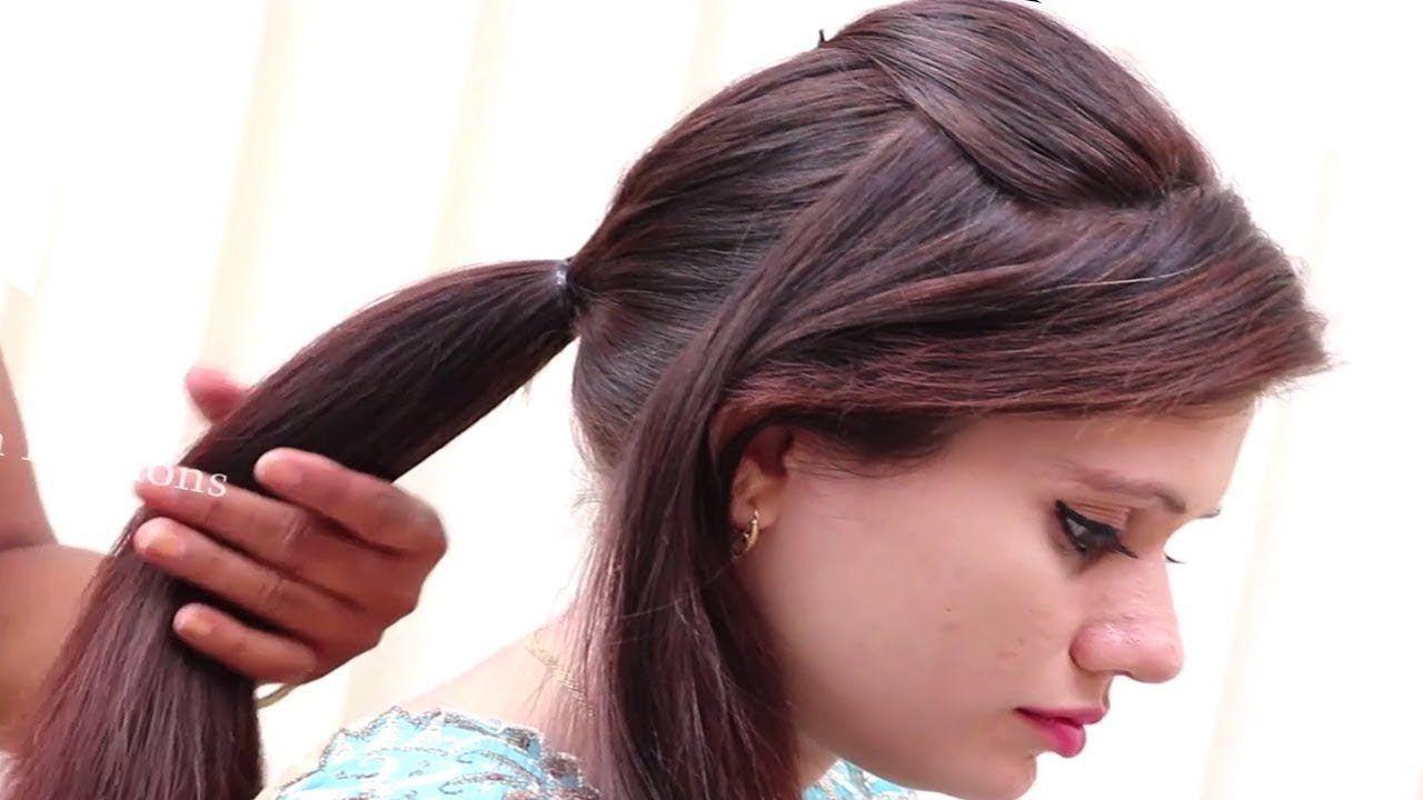 Trendy Self Hairstyles For Long Hair Easy Self Hairstyles For Medium Medium Hair Styles Hair Styles Easy Hairstyles
