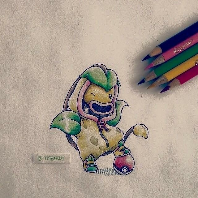 found an artist collection of pokemon wearing their evolved hoodies album on imgur