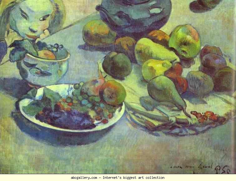 Paul Gauguin: Fruits (artist study)