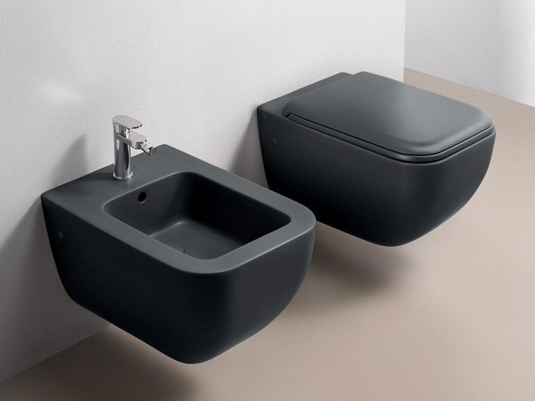 Wall Hung Ceramic Toilet Shui Comfort Collection By Ceramica Cielo