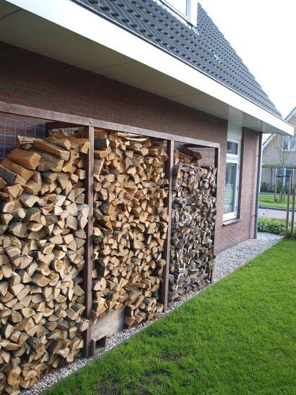 Wood Storage Make Firewood Shed Log Outdoor Buildings Outside