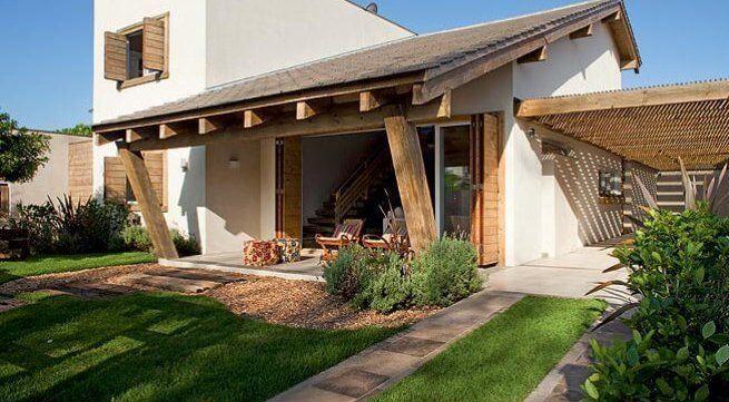 Fachada Exterior De Casas Pequenas Rustica Fachadas Exteriores De Casas Exteriores De Casas Modelos De Casas Rusticas