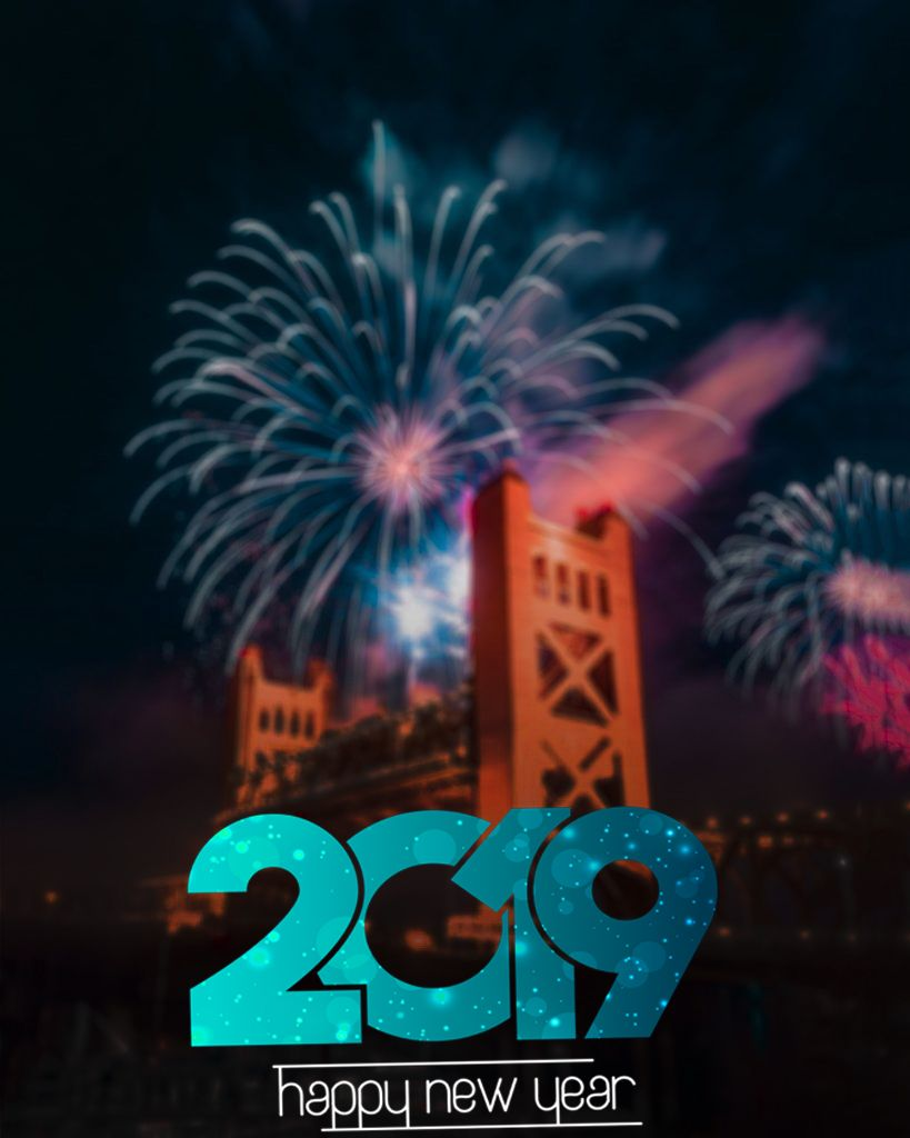 Pin by CB EDITZ on 2019 text png Happy new year png