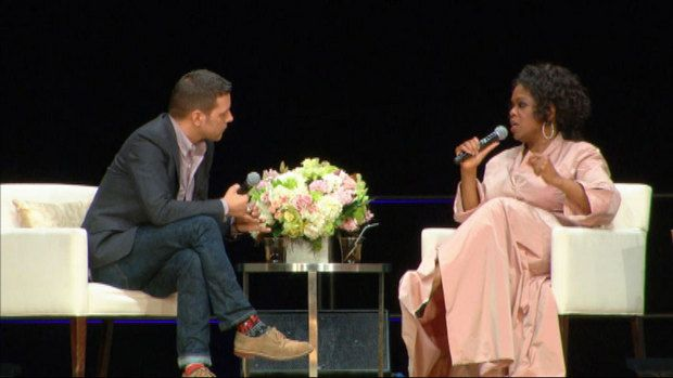 Oprah shares thoughts on celebrity with CBC's George Stroumboulopoulos | CBC News | Oprah, Oprah ...