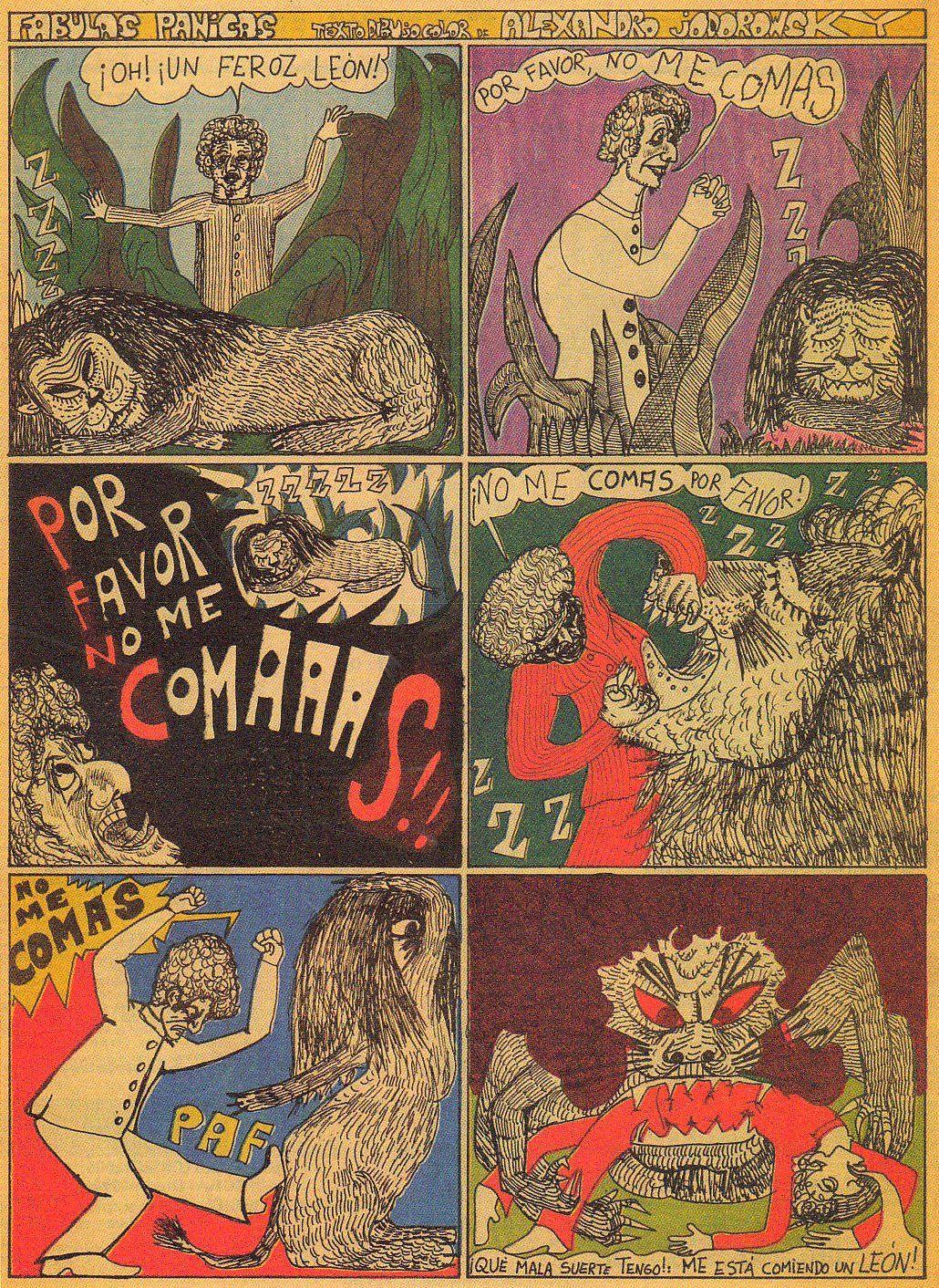 comics by alejandro jodorowsky (via http://fabulaspanicas.blogspot.com)