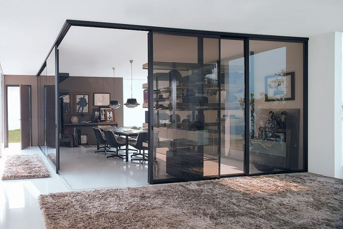 glass room dividers partitions - Google Search Polish Perfect
