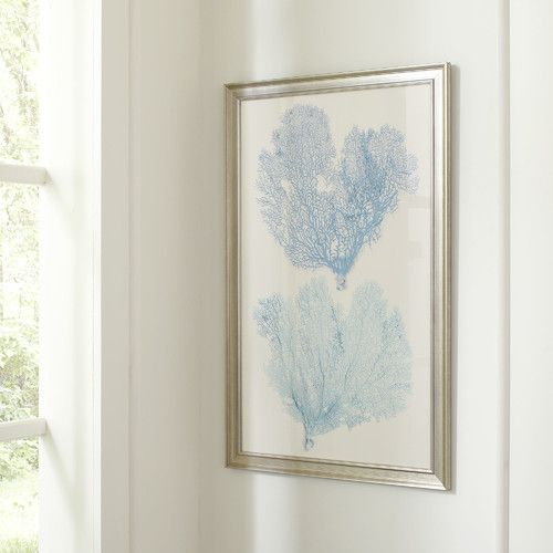 found main blue coral framed print joss furniture and patio reviews outdoor