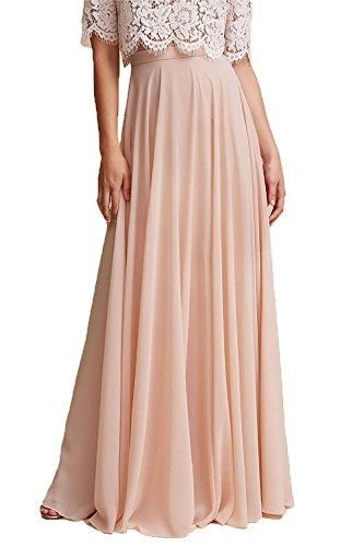 offer discounts buy cheap fashion styles Honey Qiao Chiffon Bridesmaid Dresses High Waist Long Woman ...