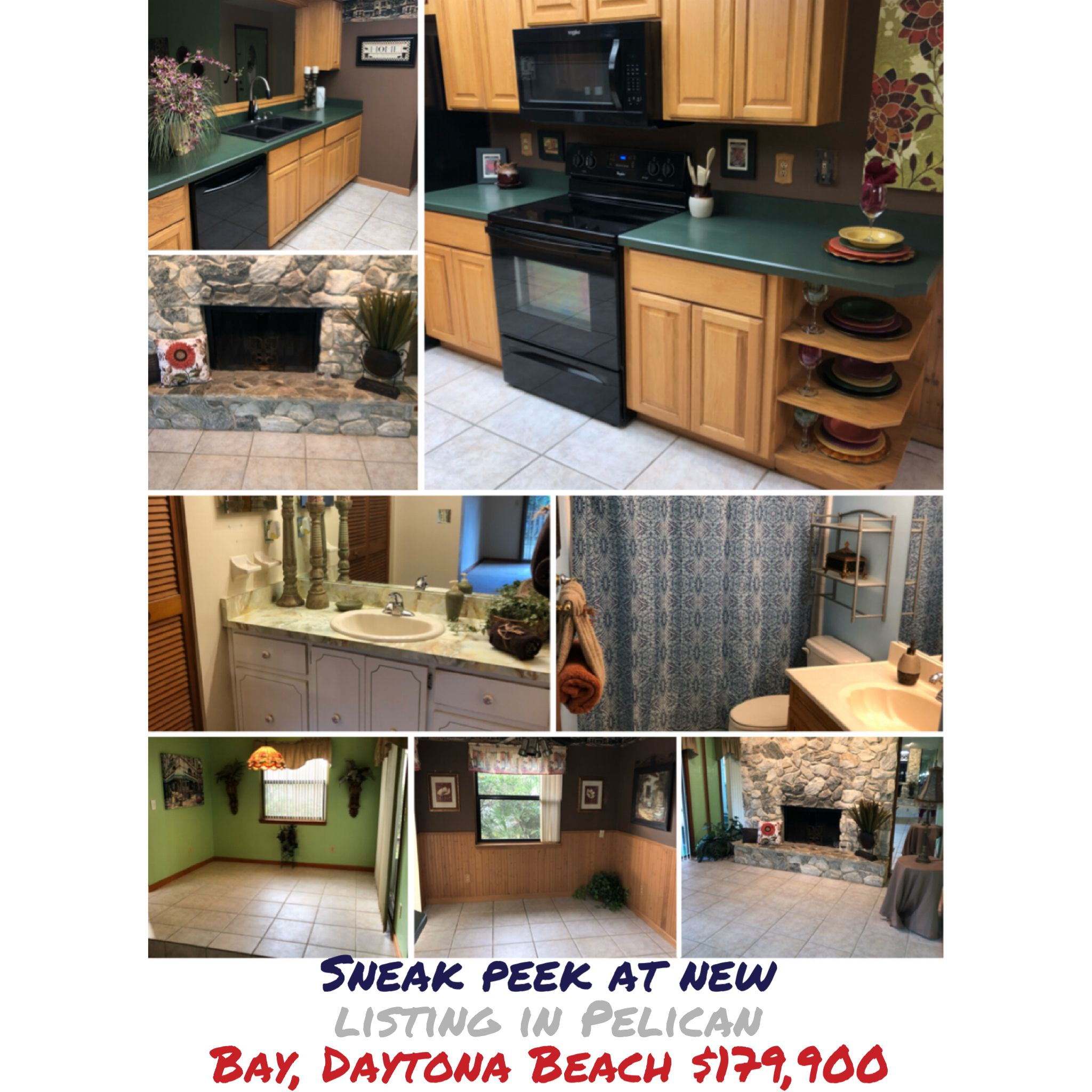 Sneak Peek At New Listing In Pelican Bay Daytona Beach 179 900 Bicoastalsoutherngirl Blessed Homestylist Southernc Pelican Bay Daytona Beach Dream House