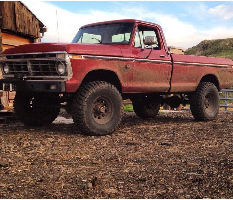 1972 Ford F250 Highboy Ford Trucks Trucks Classic Ford Trucks
