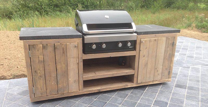 Zelf Barbecue Maken : Zelf een buitenkeuken maken van steigerhout google zoeken