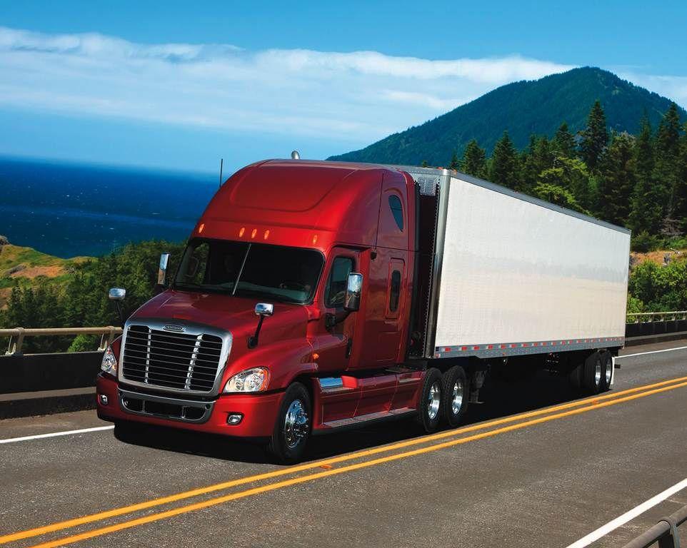 camion rojo Camiones freightliner, Camiones