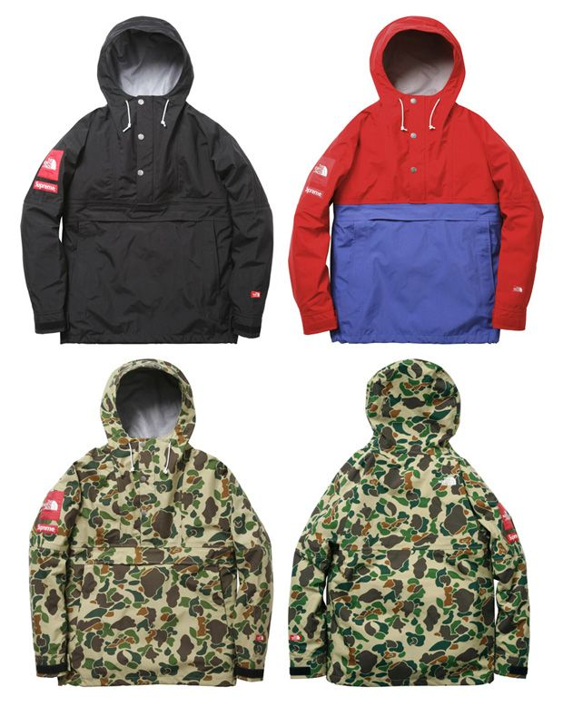 Supreme X The North Face Expedition Pullover Mens Streetwear Mens Outfits Spring Outerwear