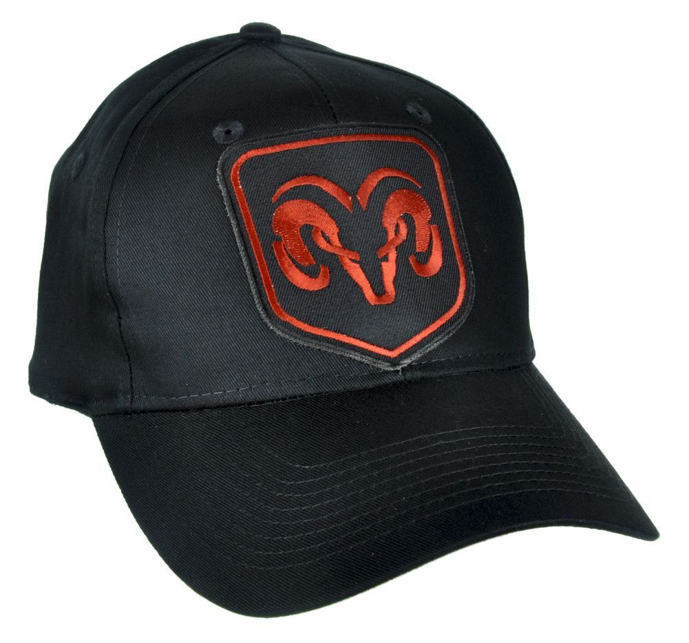 Dodge Ram Hat   Baseball Cap - High Quality Stitching - Cotton Twill -  Embroidered Cotton Patch - One size fits most! - Adjustable Plastic Snap  Back Pop ... b610294d40c5