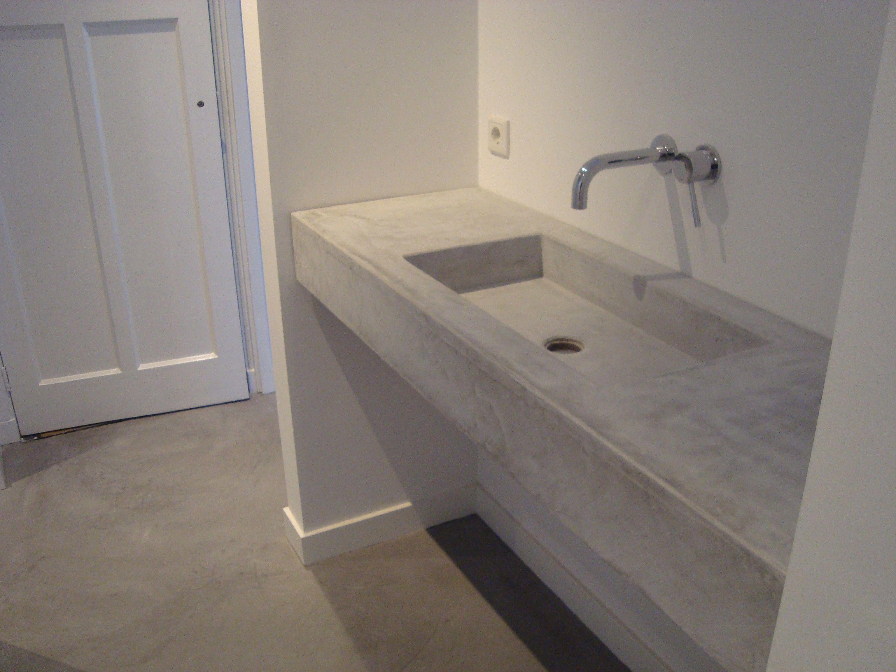 Mortex Badkamer Onderhoud : Mortex vloer gallery of beautiful gestucte badkamers betonlook