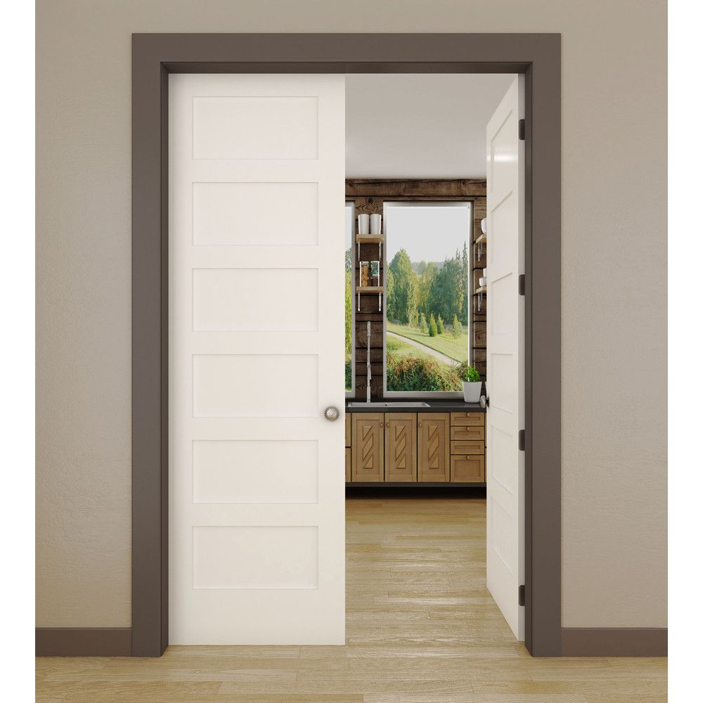 6 Panel Interior Shaker Door International Door Company Shaker Doors Primed Doors Interior