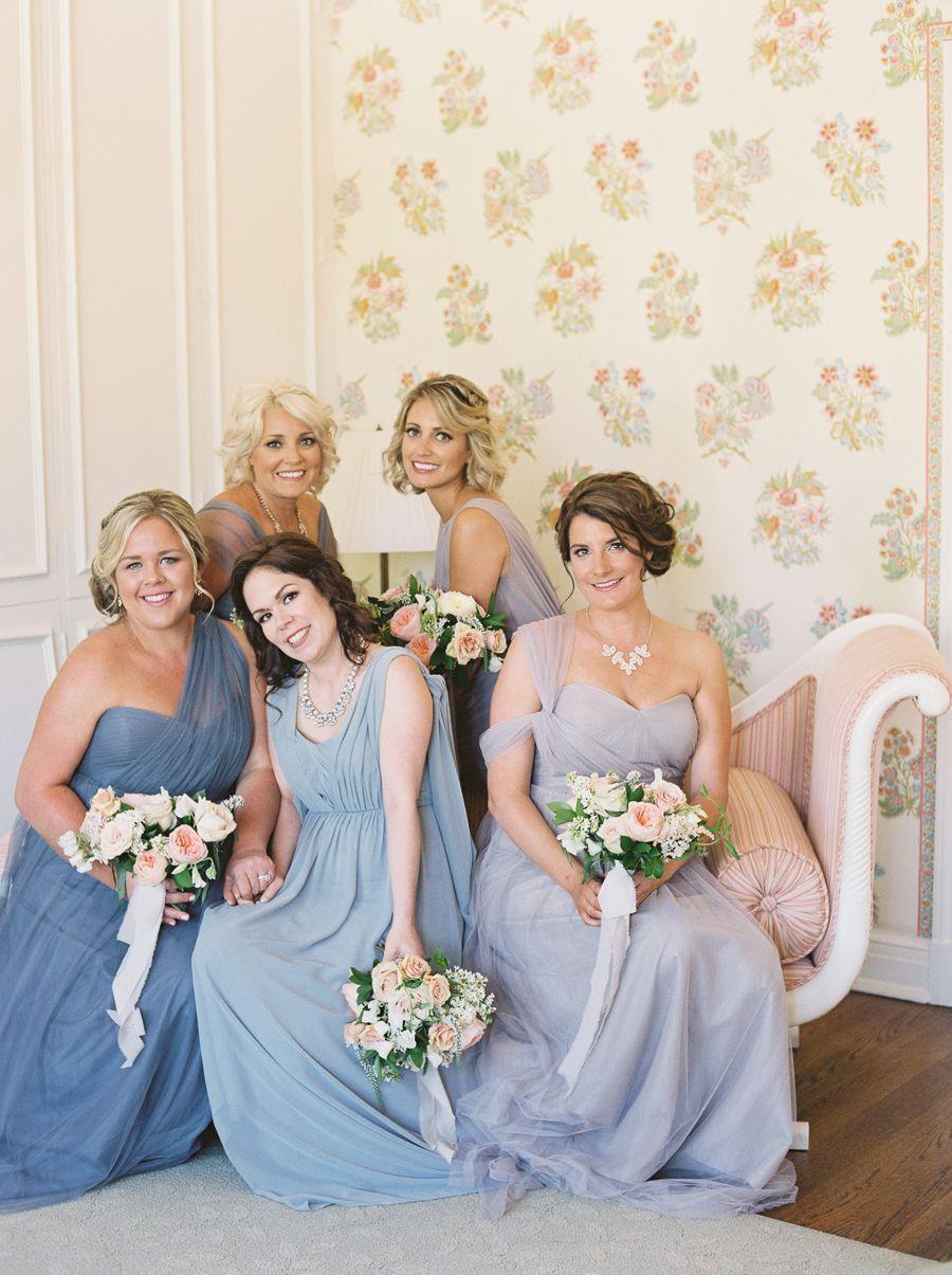 Dusty blue lavender spring garden wedding dusty blue lavender