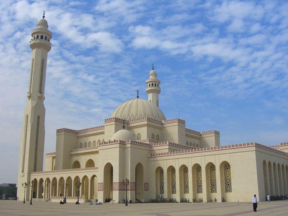 Al-Fateh Grand Masjid, Manama, Bahrain   Beautiful mosques, Mosque, Grand mosque