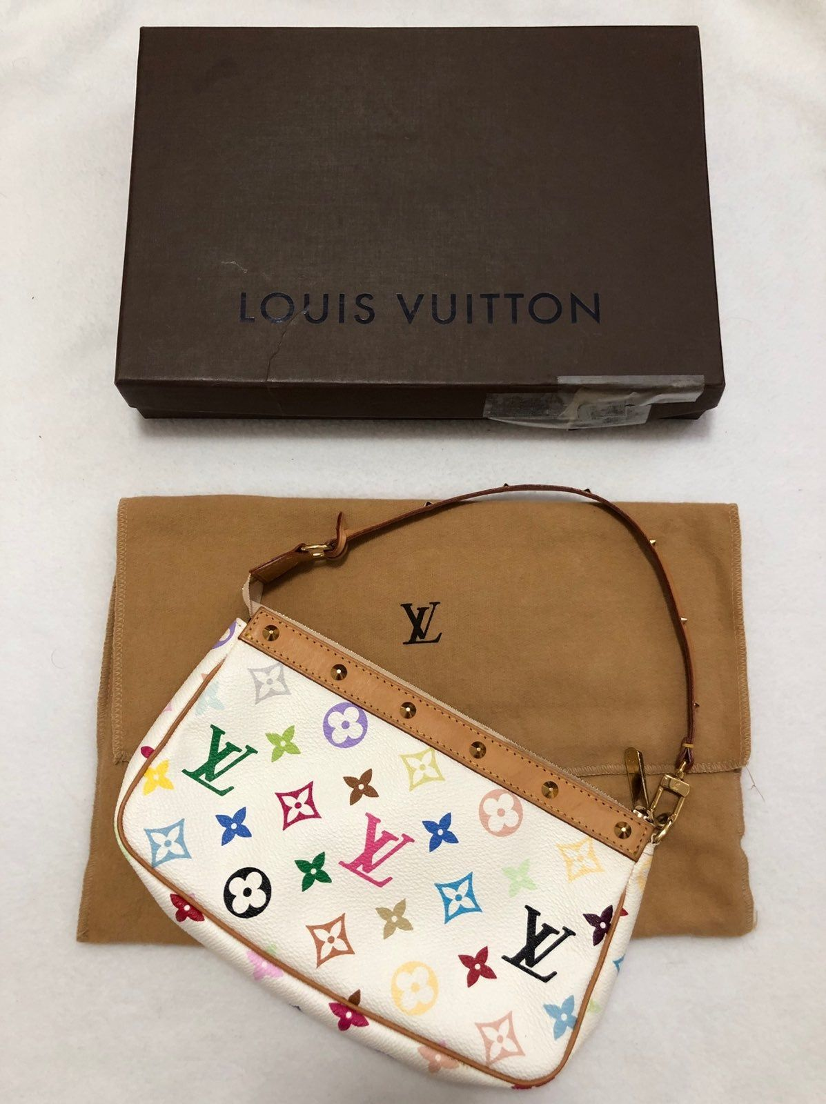Louis Vuitton Monogram Murakami Pochette on Mercar