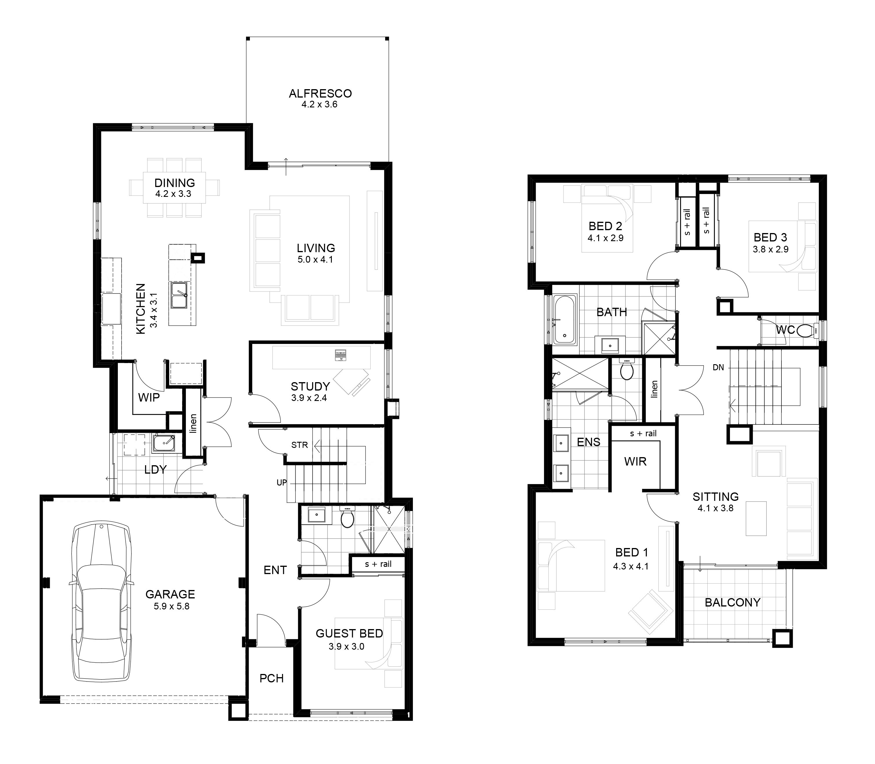 Story House Plans With Images 2 Home Plan And House Design Ideas