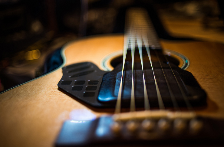 This Acoustic Guitar Attachment Could Revolutionize The Way The Instrument Is Played Instruments Guitar Acoustic Guitar