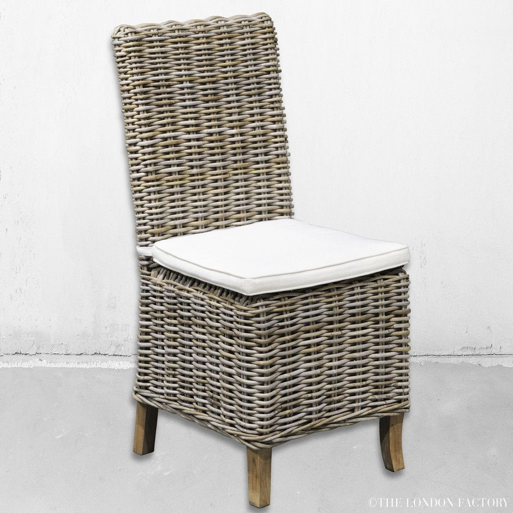 Wicker Dining Chairs Indoor Reclining Desk Chair Palma Rattan Seagrass Outdoor The London Factory Www Thelondonfactory Com